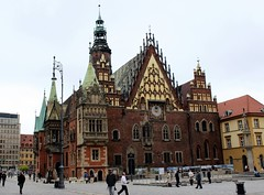 Wrocaw City Hall (Christopher OKeefe) Tags: cityhall poland wroclaw marketsquare rynek breslau