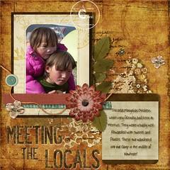 Meeting the Locals (Carol Dunham) Tags: