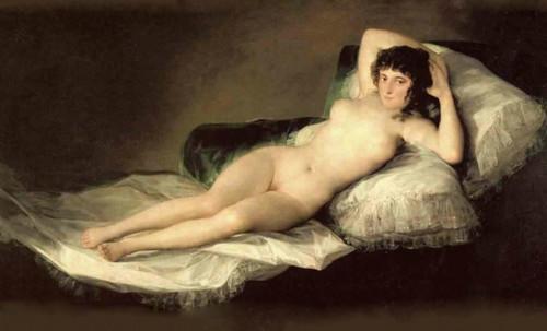 "Majas, homenajes de Francisco de Goya y Lucientes (1802), Eugéne Delacroix (1826), Amadeo Modigliani (1916), Pablo Picasso (1906), (1931), (1959), (1964). • <a style=""font-size:0.8em;"" href=""http://www.flickr.com/photos/30735181@N00/8746849195/"" target=""_blank"">View on Flickr</a>"