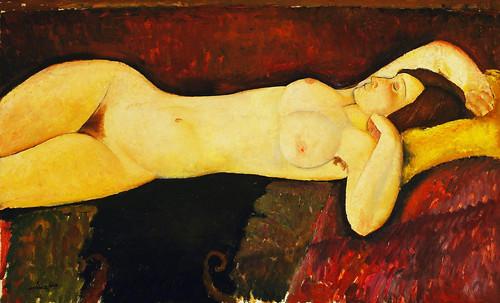 """Genealogía de las Soñantes, versiones de Lucas Cranach el Viejo (1534), Giorgione (1510), Tiziano Vecellio (1524), Nicolas Poussin (1625), Jean Auguste Ingres (1864), Amadeo Modigliani (1919), Pablo Picasso (1920), (1954), (1955), (1961). • <a style=""""font-size:0.8em;"""" href=""""http://www.flickr.com/photos/30735181@N00/8747948550/"""" target=""""_blank"""">View on Flickr</a>"""