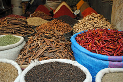 Spices (just_a_cheeseburger) Tags: morocco spices fes feselbali fesmedina