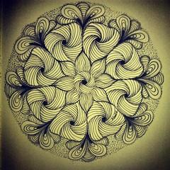 day 120 (Nadik25) Tags: art moleskine drawing doodle zen meditation 365 doodling zentangle zendoodling instagram zenstagram