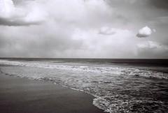 Snow clouds (johnmcochran2012) Tags: ocean winter sky blackandwhite bea