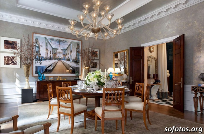 Salas de jantar decoradas (59)