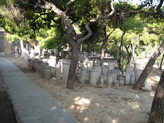 028 - Broken columns as grave markers (Scott Shetrone) Tags: other graveyards events places athens greece 5th kerameikos anniversaries
