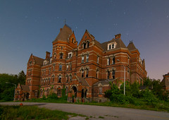 Hudson River Psychiatric Center (Noel Kerns) Tags: new york abandoned night hospital river center poughkeepsie hudson psychiatric kirkbride