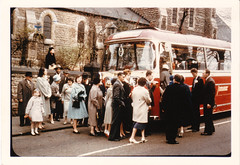 Wormald, BarrieBarton's Bus 865 - Wedding Party (Phil Wormald) Tags: nottingham wedding standrews 1961 bartons bartontransport trentbarton bartonbus