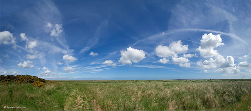 Walking along the Norfolk Coast path