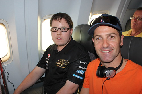 2013 V8Supercars - Hidden Valley - Jamie Whincup as a Travel Buddy
