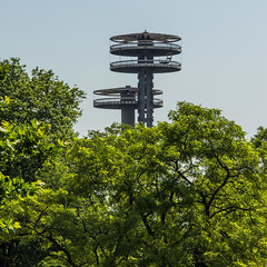 (skingld) Tags: trees day sunny flushingmeadows clear clearsky