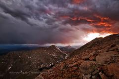 Mt Evans Sunset (RondaKimbrow) Tags: sunset colorado alpine mountainlake moutain mtevans abovetreeline coloradolandscape rondakimbrowphotography coloradoimage scripttypetextjavascriptsrchttpsfineartamericacomwidgetshoppingcartwidgetscriptsphpscriptiframesrchttpsfineartamericacomwidgetshoppingcartartworkhtmlmemberidtypeartistidmemberid188556domainid0showheader0height600