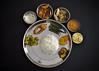 Bangla Cuisine (Bhaskar Dutta) Tags: authentic traditional bengali bangla cuisine khabar daal bhat alubhaja machh mangsho rice bhaja special lunch dinner india west bengal dish gettyimagesmiddleeast gimejul2013 food plate