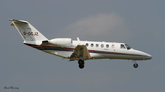 Centreline Air Charter Cessna 525A G-OCJZ (birrlad) Tags: ireland dublin private airplane airport aircraft aviation airplanes landing arrival approach runway dub bizjet
