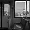 On the M-Oceanview (Arachide) Tags: sanfrancisco california bw lumix muni streetcar lookingoutthewindow lx5 kingleside