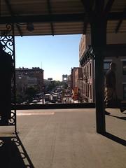 (Wells Baum) Tags: cameraphone city nyc newyorkcity summer people ny newyork landscape photography flickr harlem manhattan bigapple iphone