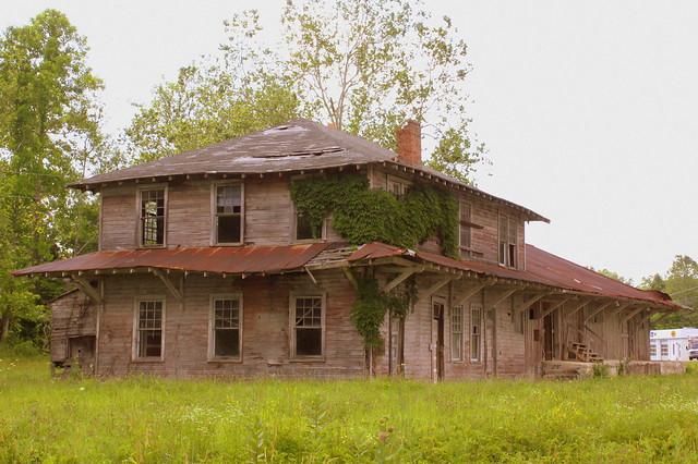Jamestown, TN Oneida & Western Depot