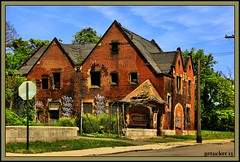 Yeah, this too is Detroit (the Gallopping Geezer 3.8 million + views....) Tags: house building abandoned home canon closed decay michigan detroit structure faded worn deserted decayed geezer dwelling 2013 tonemap