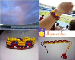 Ultimate (Macradabra) Tags: colombia ultimate bracelet tricolor pulseras macram manillas macradabra
