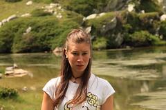 Biol #2 (dievinai) Tags: summer portrait mountain lake green love nature girl canon korea 2013 eos550d