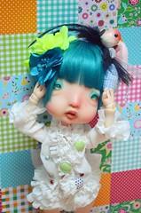 Journée chez MéMé (Purple ♥ Enma) Tags: france colors ball doll artist dolls super sd bjd resin kane toulouse humpty dumpty dollfie mémé jointed nefer