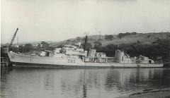 HMS Cambrian (hugh llewelyn) Tags: ca war class destroyer standard hms cambrian giantsgrave wardsscrapyardbritonferry