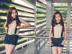 escape_14 (joms-allsunday) Tags: portrait asian nikon pretty philippines bowtie portraiture filipina suspenders quezoncity prettyface outdoorportrait incognitophotoworks