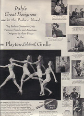 53 1951 (Undie-clared) Tags: girdle playtex fablined