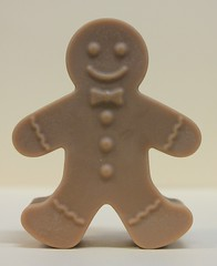 Gingerbread Man $3.00 (Clelian Heights) Tags: christmas winter gingerbreadman soaps unscented decorativesoaps cleliansoaps cleliancenter