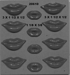 20610 (Chocolate Concepts) Tags: people kiss chocolate kisses lips lip mold assortment