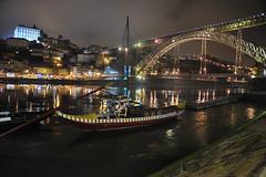 Oporto (TerePedro) Tags: bridge portugal puente barco ponte pont rabelo vilanovadegaia grandeporto