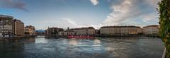 Geneva, Switzerland (Oleg.A) Tags: panorama switzerland evening geneva geneve lakegeneva
