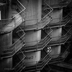 stairway to heaven (Andibart) Tags: duisburg thyssen ruhrgebiet bonjourtristesse stahlwerk ruhrpott landschaftsparkduisburg thyssenironworksinduisburgmeiderich