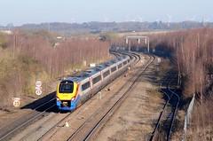 222002 aa Wellingborough 090215 D Wetherall (MrDeltic15) Tags: meridian wellingborough millroad midlandmainline class222 222002 eastmidlandstrains