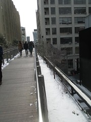 High Line Snow Covered Railroad Overpass Tracks to Nowhere 8313 (Brechtbug) Tags: road park street new york city nyc railroad winter urban snow streets west art architecture garden way design march high downtown gallery path walk manhattan district balcony packing side nowhere tracks overpass rail pedestrian mini el meat line midtown covered mezzanine transportation boardwalk former elevated blizzard derelict reclamation highline skyway redesign the remodeled 2015 03072015