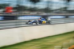 Speed trap. (God_speed) Tags: park car race speed one track slow marcus ericsson albert wide melbourne f1 ferrari formula sauber pan circuit formula1 felipe nasr