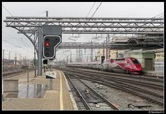 NMBS 4302 - TGV 9801 (Spoorpunt.nl) Tags: station gare bruxelles 24 mei midi brussel tgv trein zuid 2014 nmbs treinstel 9801 4302 pbka