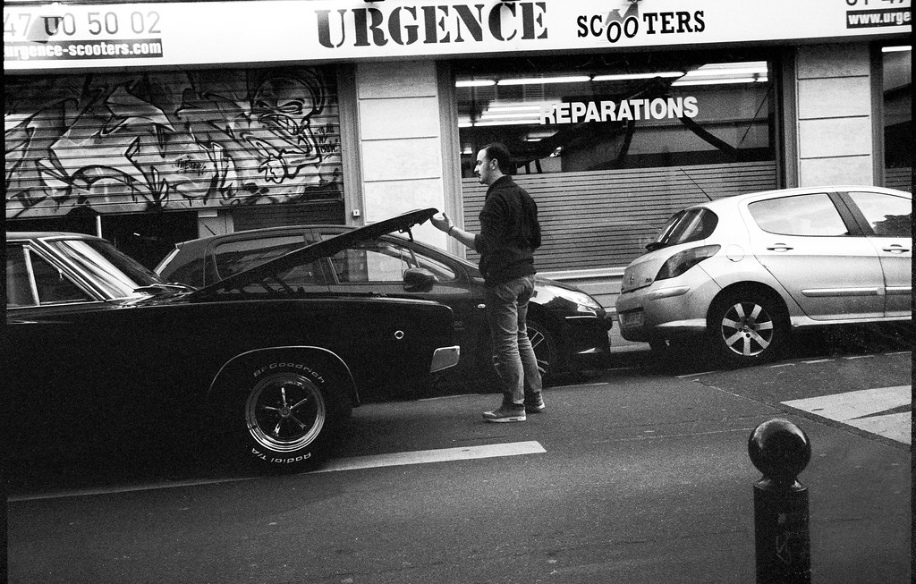 The world 39 s best photos of mecanicien flickr hive mind for Garage ford paris 13