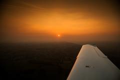Evening Flight (Mark Winterbourne | markwinterbourne.com) Tags: england canon photography photographer unitedkingdom leeds aerialphotography westyorkshire sr22 24105 yeadon eos5d n40gd markwinterbourne cirrussr22cn0473n40gd 100400yeadon httpmarkwinterbournecom