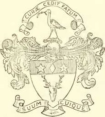 Arms of Alex. Thomson of Banchory.