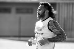 Jocelino SUTA (SylvainMestre) Tags: bw rugby nb rct entrainement toulon suta brignoles top14 jocelino tc20eiii