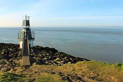 Portishead Point Lighthouse (teresa ha gli occhi secchi.) Tags: uk lighthouse canon point faro mare portishead battery 550d