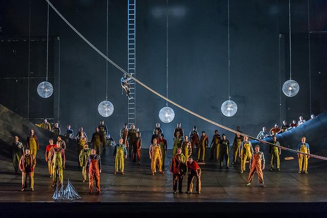 The Royal Opera's Der fliegende Holländer © ROH 2015. Photo by Clive Barda