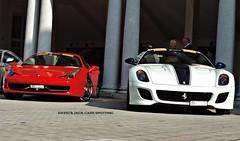 458 VS GTO (Giacomo Toledo Photography) Tags: italia ferrari gto vs v8 v12 599 458 ferrari599 ferrari458 ferrari458italia ferrari599gto