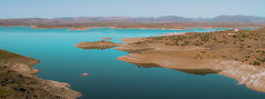 The lake of fantasy (theironalecomet65) Tags: africa travel mountain lake water landscape marocco
