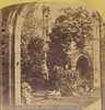 Ruins of Dryburg Abbey, Scotland - late 1800s (Aussie~mobs) Tags: dryburghabbey scotland ruins castle abbey stereoview newseries europeanviews stereoscopicphotograph