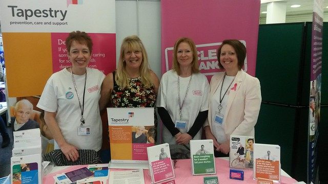 International Womens Day 2015 with our Cancer Awareness and Dementia Advice teams