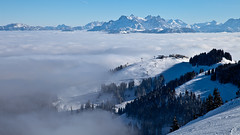 Sunny day over Tyrol (:: Blende 22 ::) Tags: winter snow fog clouds canon austria cloudy wintertime tyrol wilderkaiser scheffau canoneosd canoneos5dmarkii ef2470f28liiusm