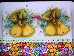 peras (LID ARTS) Tags: de em prato panos pintura tecido