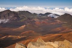 Sunset at Haleakala crater (fenicephoto) Tags: maui haleakala