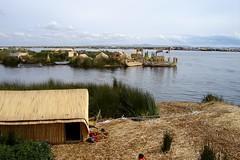 2007 - Peru - Floating Village on Lake Titicaca near Puno (bellrockman2011) Tags: peru laketiticaca knitting cusco quinoa weaving puno taquileisland yavari lakedwellers